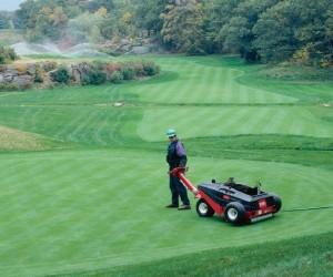 golf green aeration